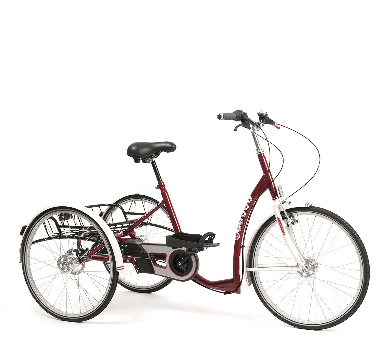 Rower trójkołowy dla dorosłych LAGOON