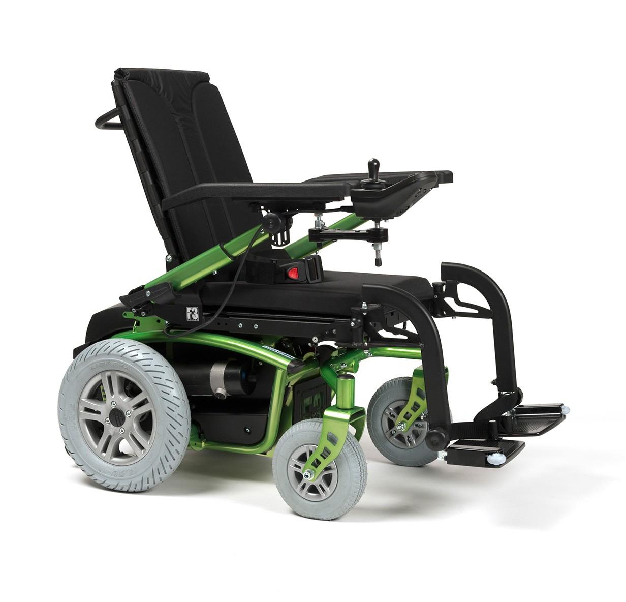 Wózek z napędem elektrycznym pokojowo terenowy FOREST 3