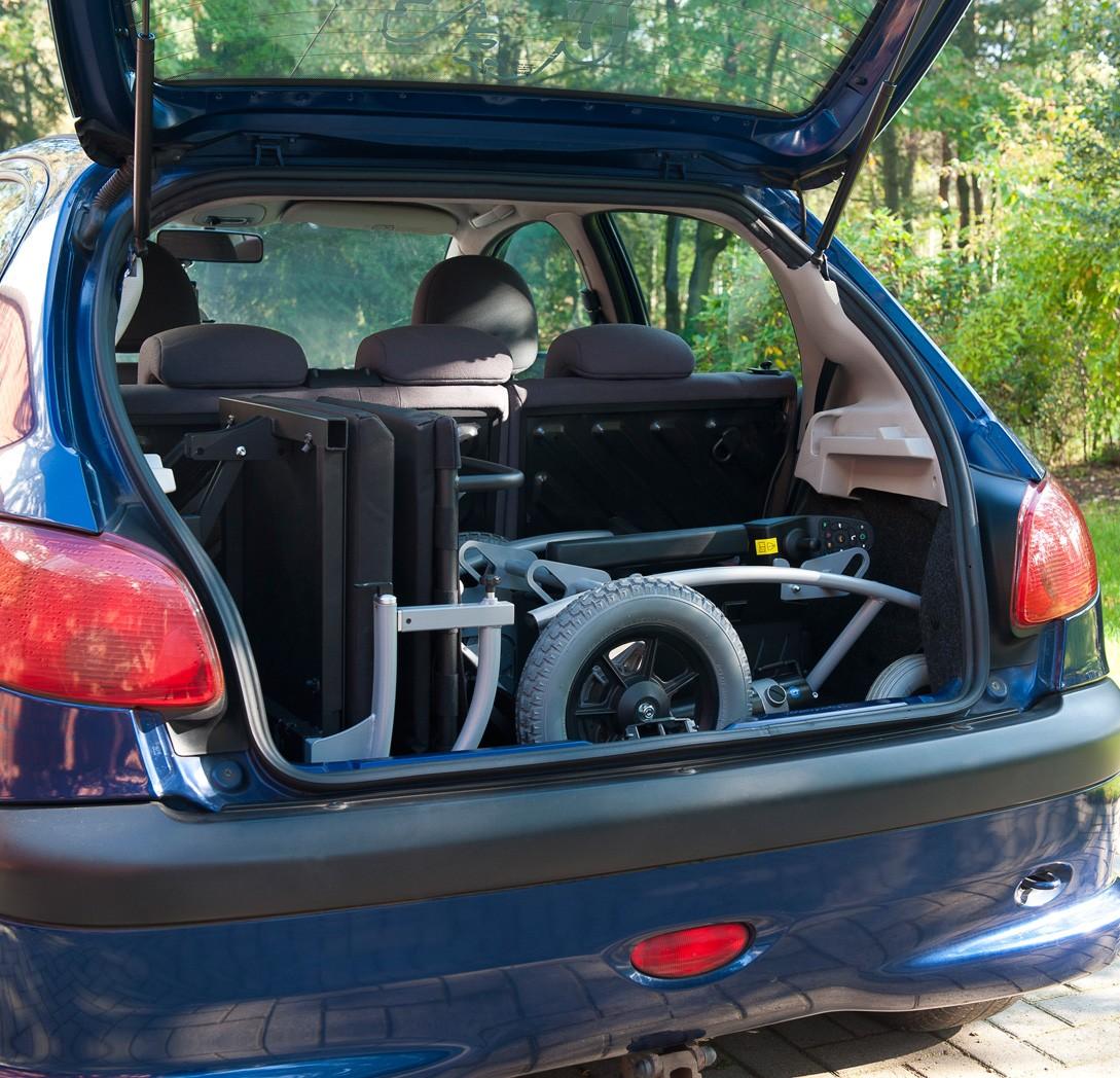 Wózek z napędem elektrycznym pokojowy NAVIX RWD