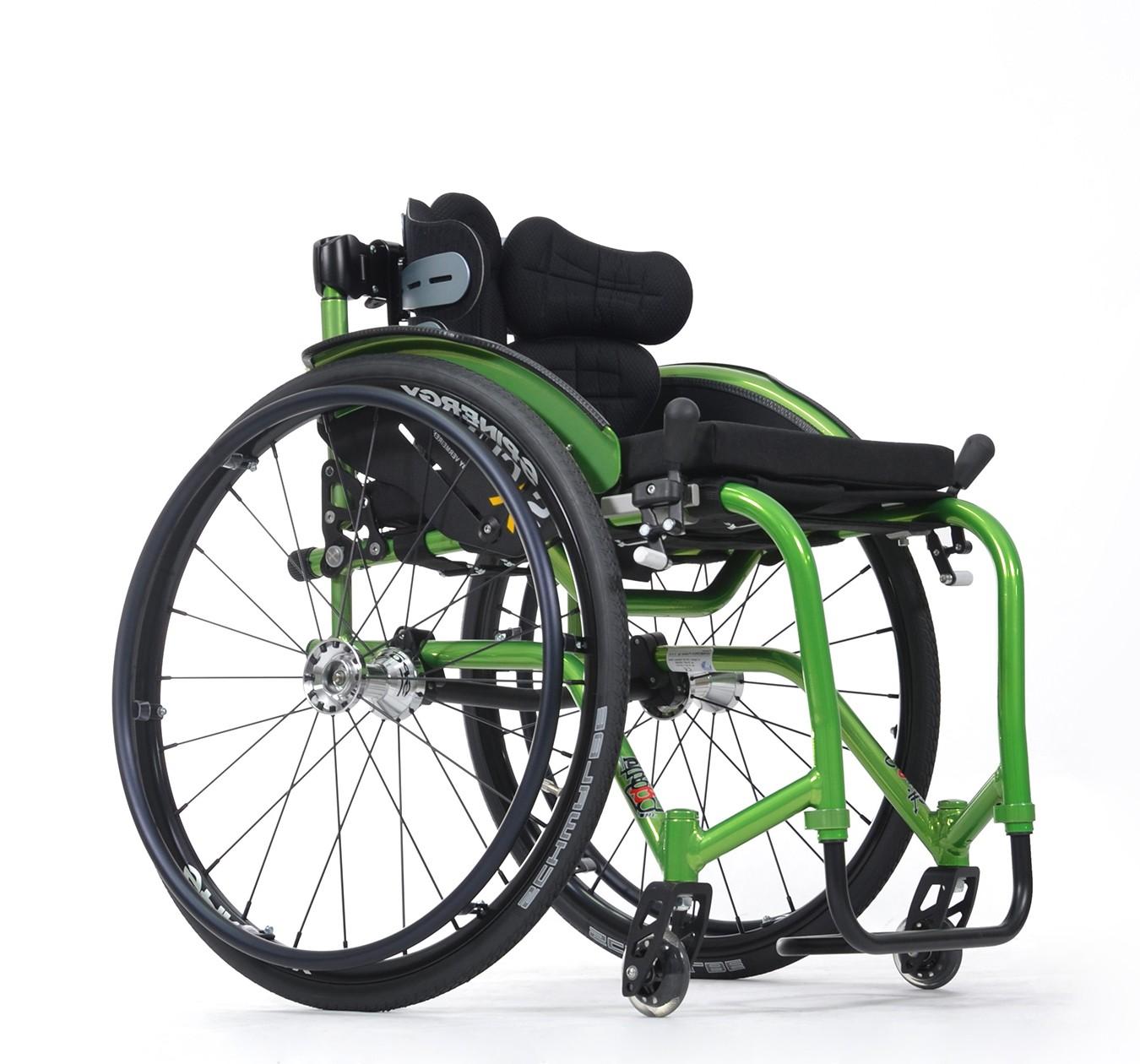Wózek ze stopów lekkich aktywny SAGITTA