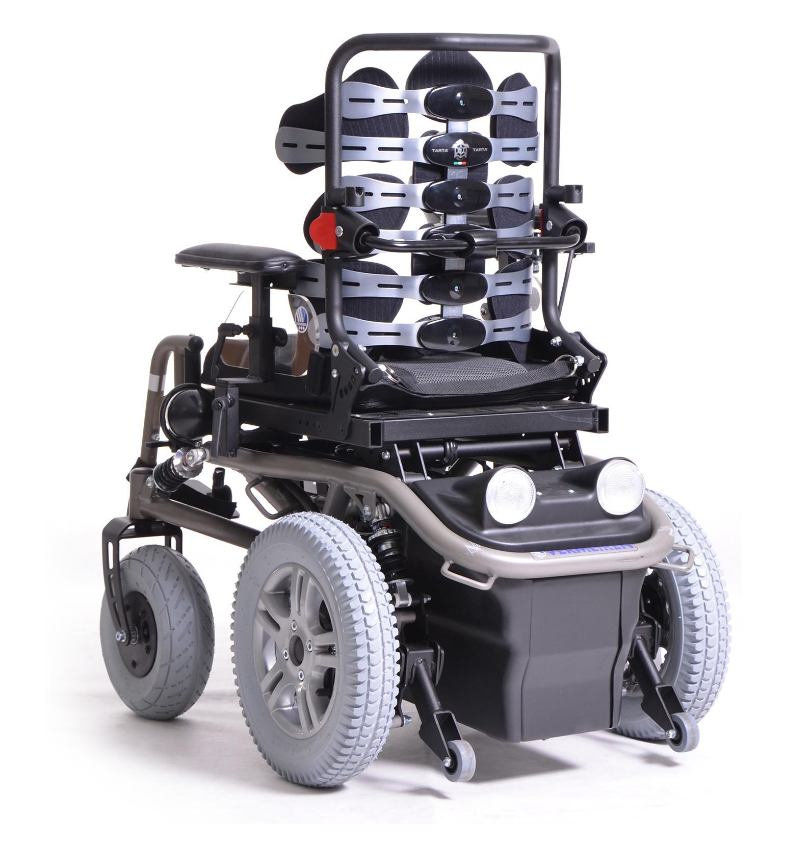 Wózek elektryczny pokojowo terenowy SPRINGER