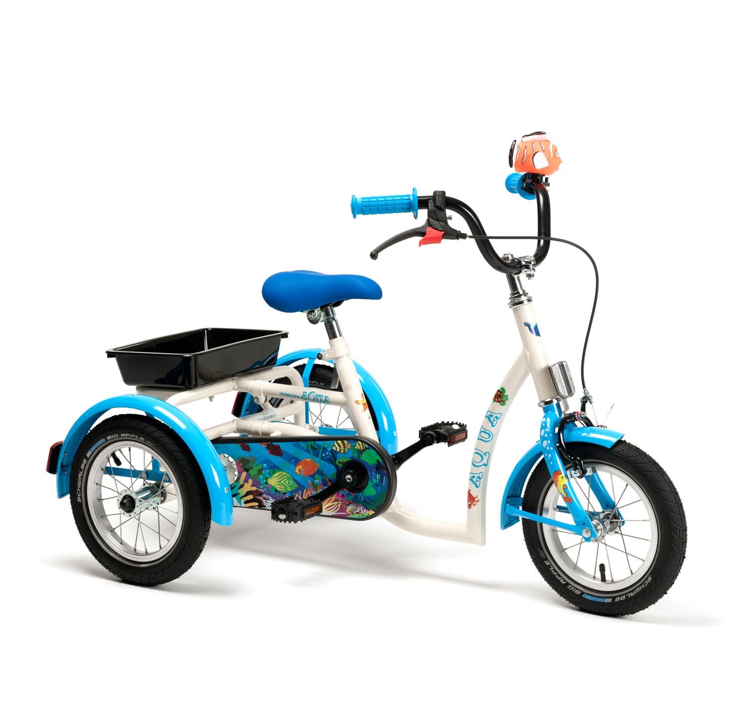 Rower rehabilitacyjny trójkołowy dla dzieci AQUA