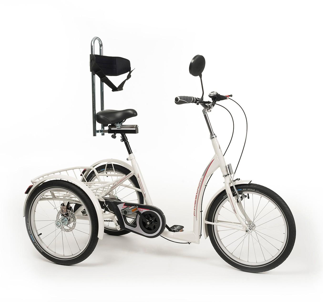 Rower rehabilitacyjny trójkołowy dla młodzieży FREEDOM