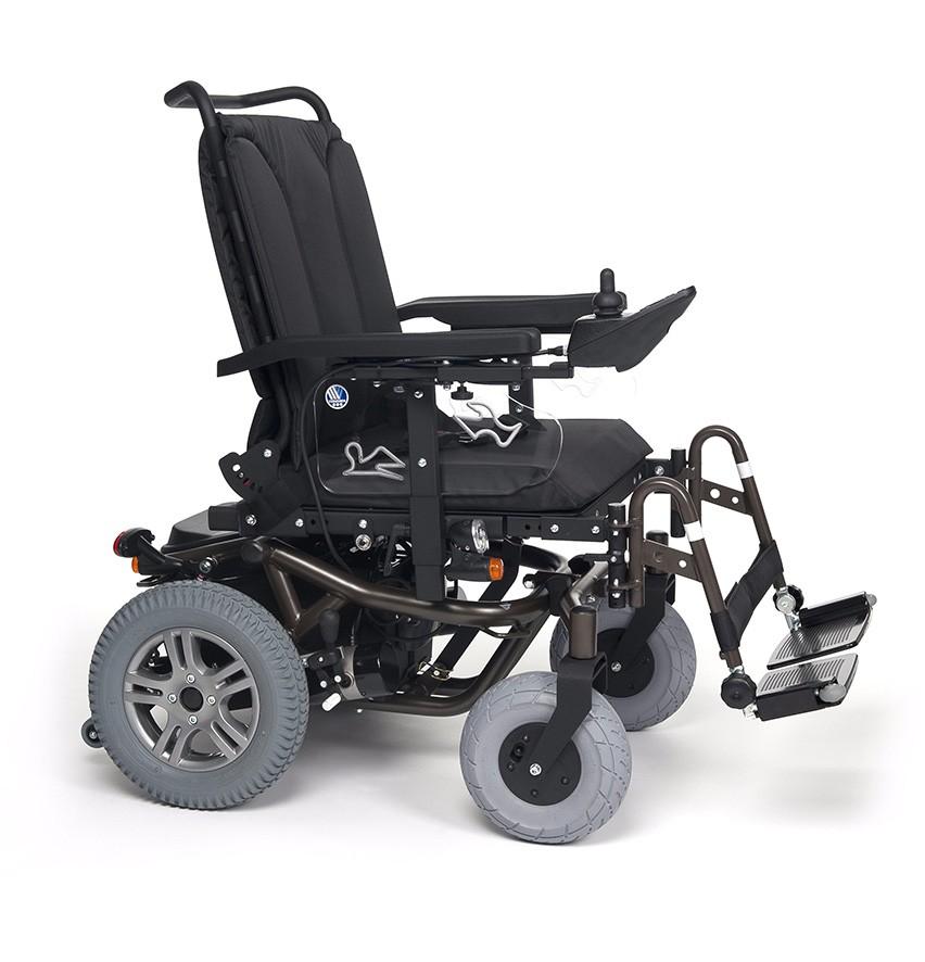 Wózek z napędem elektrycznym pokojowo terenowy FOREST GT
