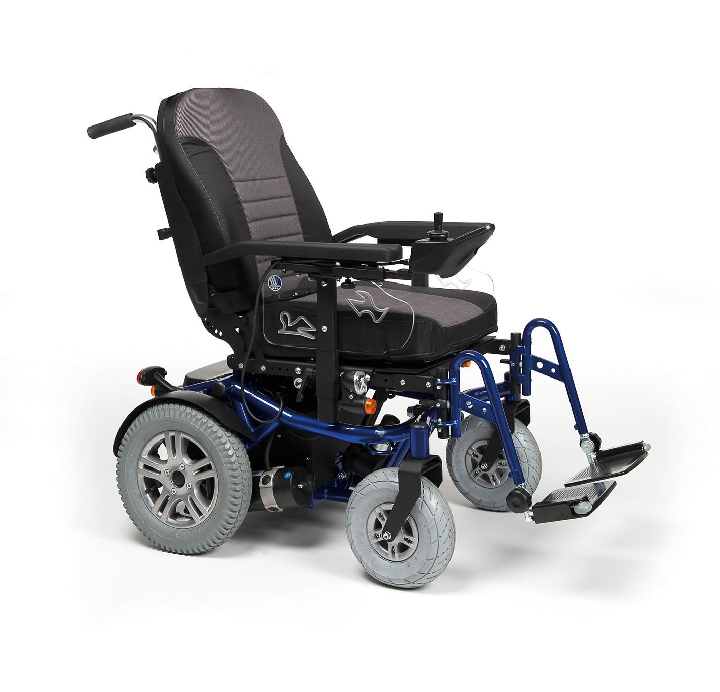 Wózek z napędem elektrycznym pokojowo terenowy FOREST