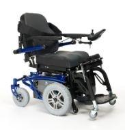 Wózek z napędem elektrycznym, terenowy, z funkcją pionizacji TIMIX SU
