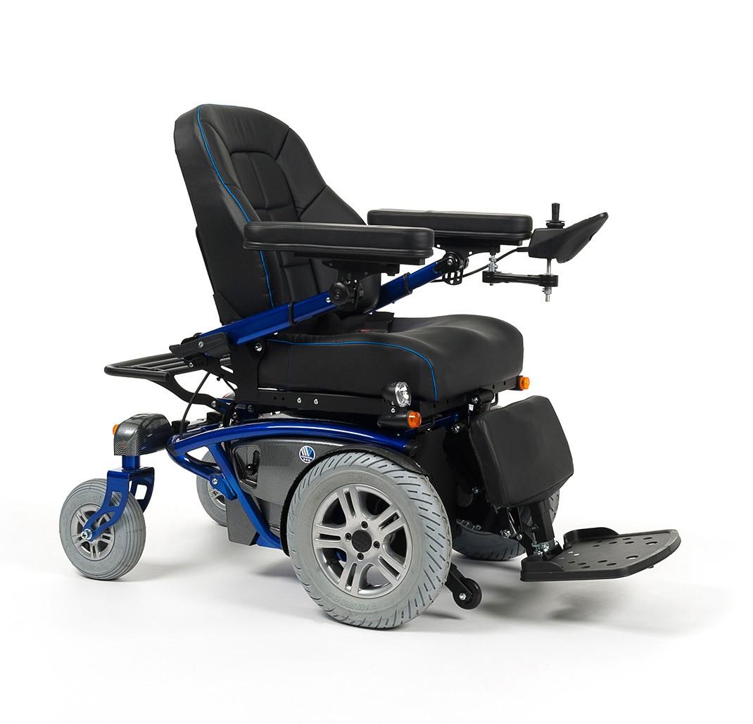 Wózek z napędem elektrycznym na przednie koła terenowy TIMIX