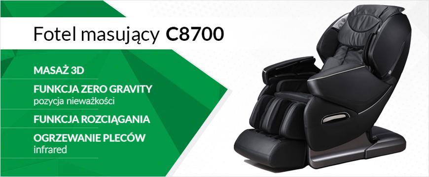 baner przedstawiający fotel masujący c8700